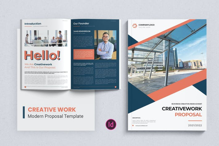 Thumbnail for Creative Work – Proposal Template