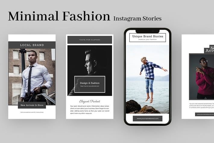 Thumbnail for Minimal Fashion Instagram Stories
