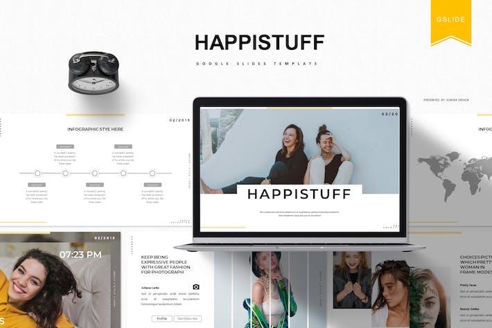 Thumbnail for Happistuff | Шаблон слайдов Google