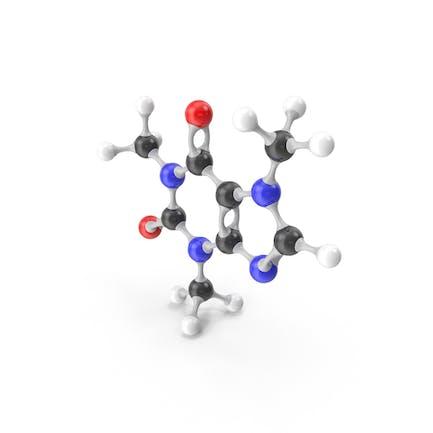 Caffeine Molecular Model