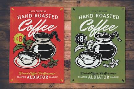 Coffee Roaster Flyers