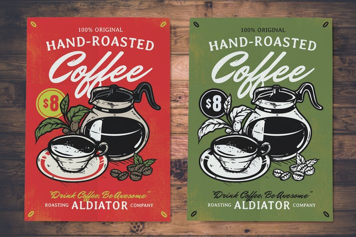 Thumbnail for Dépliants de torréfaction à café