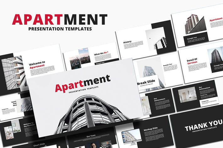 Thumbnail for Apartment - Google Slides Template
