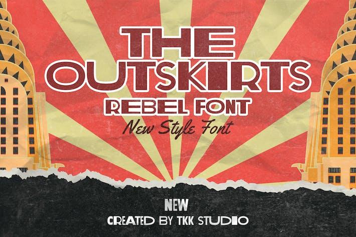 The Outskirts - Fuente rebelde clásica vintage