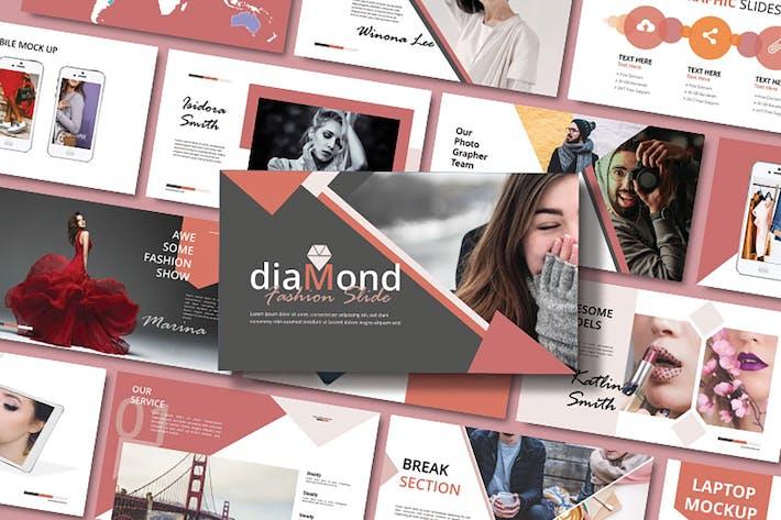 DIAMOND - Fashion Keynote Template