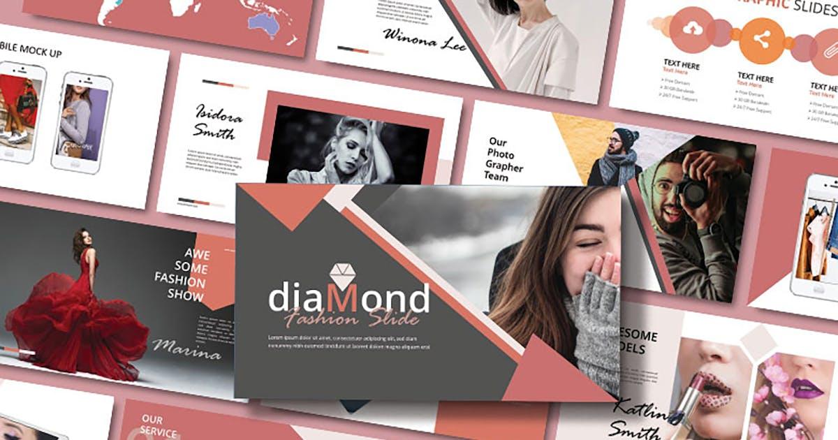 Download DIAMOND - Keynote Template by joelmaker