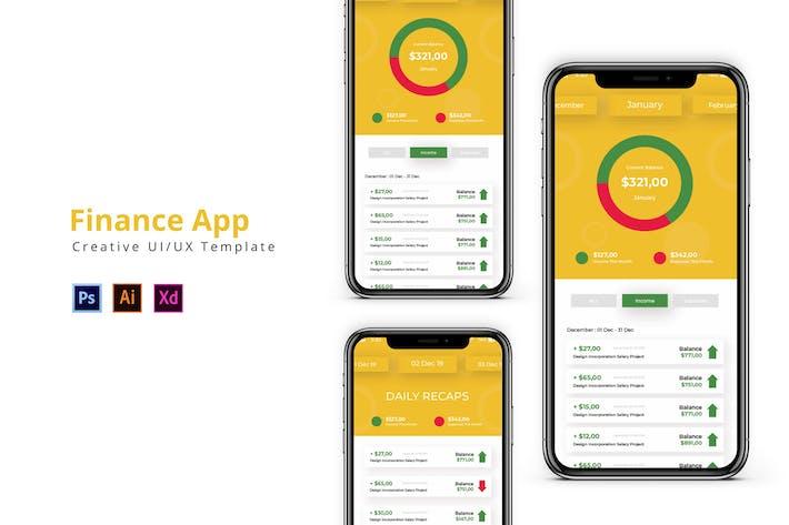 Thumbnail for App Finance
