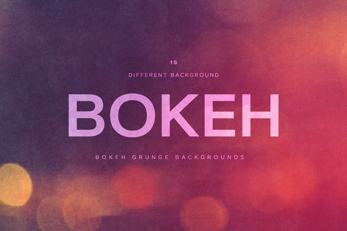 Thumbnail for Bokeh Grunge Backgrounds