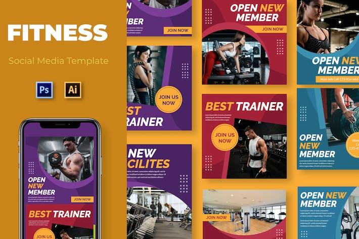 Thumbnail for Open Trainer Social Media Template