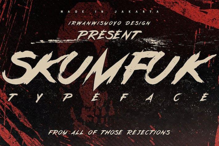 Cover Image For Skumfuk Typeface
