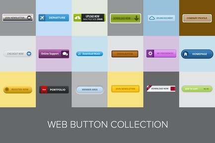 Web Button Collection