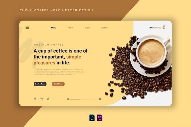 Tukhu Coffee | Hero Header