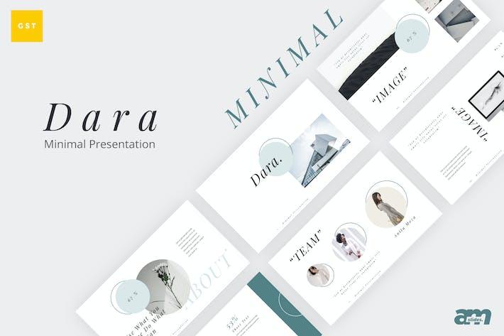 Thumbnail for Dara Minimal Google Slides