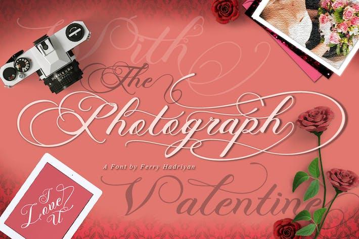 Thumbnail for Photograph - Script Wedding Font
