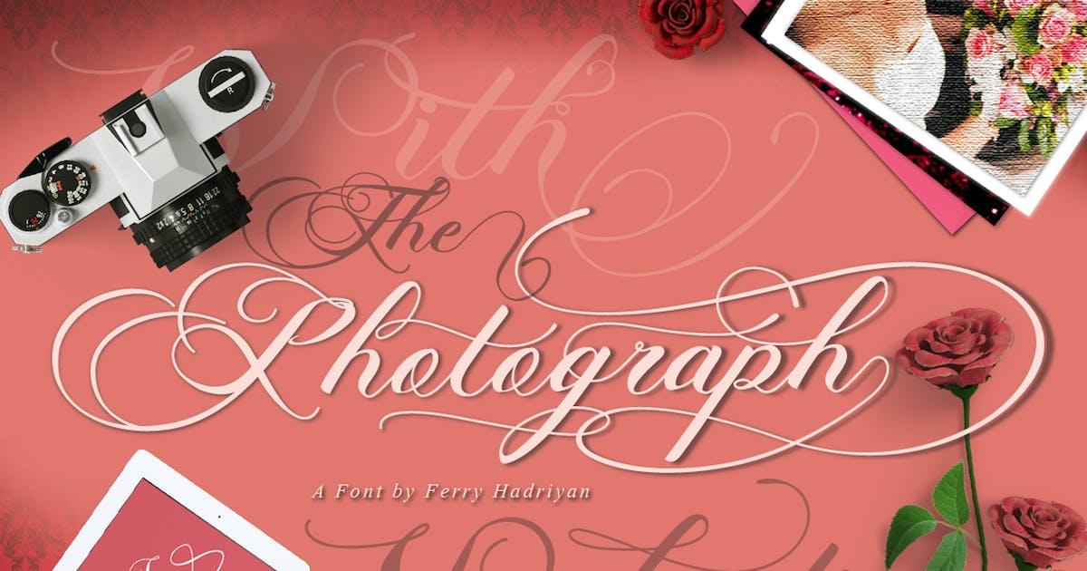 Download Photograph - Script Wedding Font by Voltury