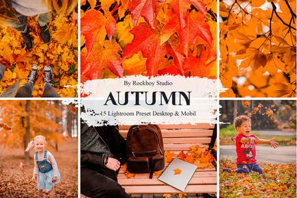 15 Autumn Lightroom Presets