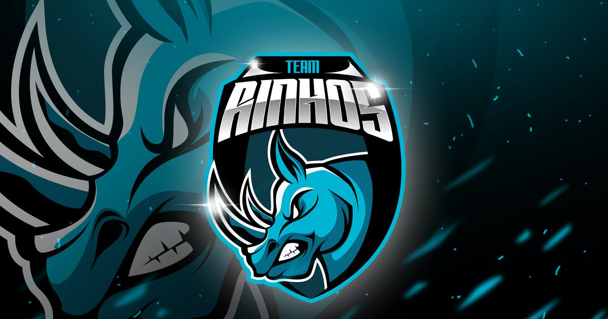 Download Rinhos - Mascot & Esport Logo by aqrstudio