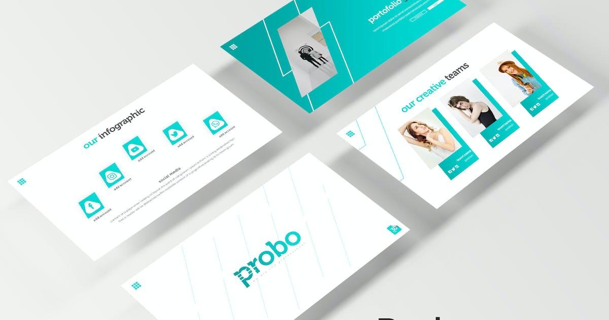 Download Probo - Keynote Template by IanMikraz