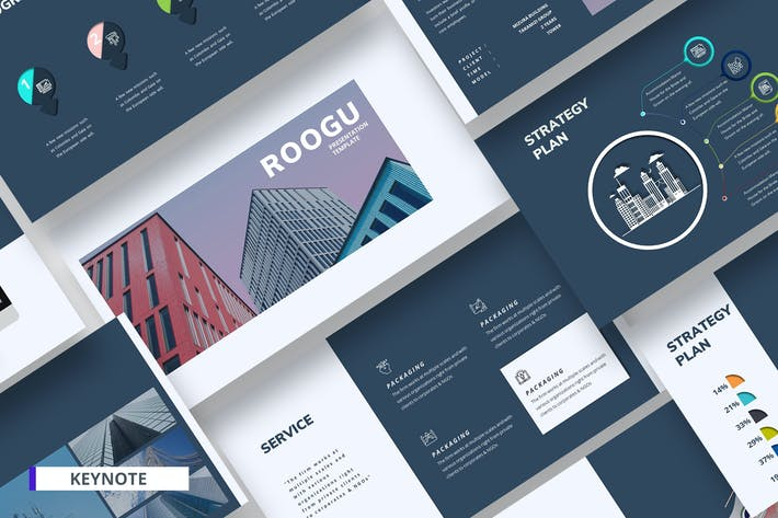 Cover Image For Roogu Corporate Keynote Template