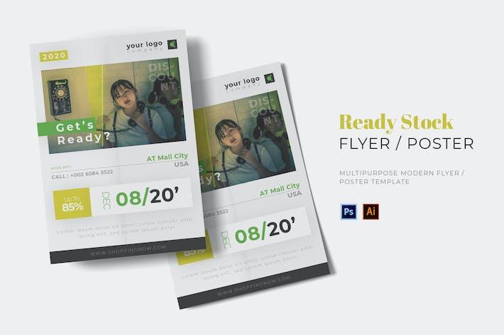 Thumbnail for Ready Stock Flyer