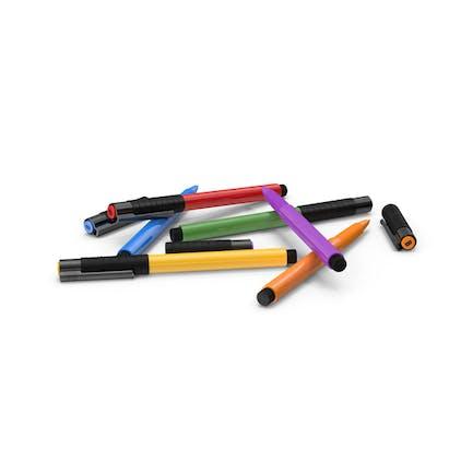 Bolígrafos de artista