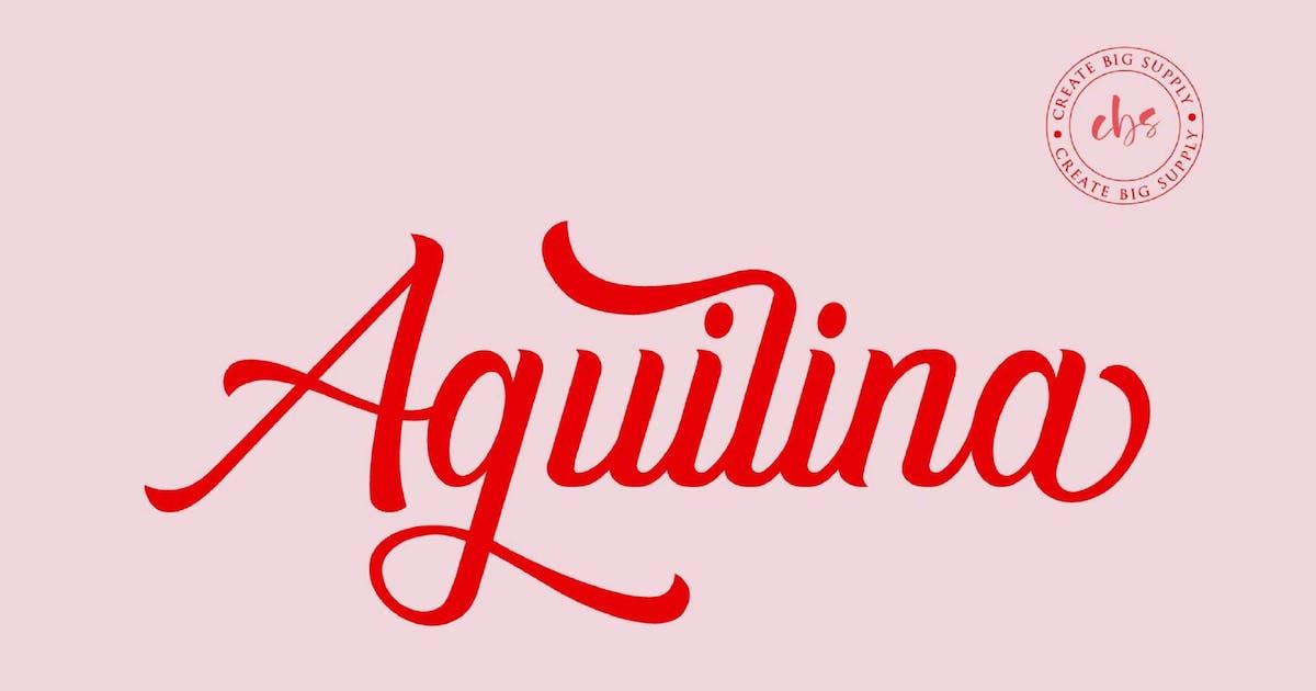 Aguilina VN - Handwriting Font by GranzCreative
