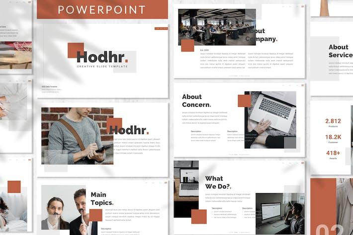 Thumbnail for Hodhr. - Creative Powerpoint Template
