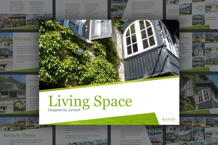 Thumbnail for Living Space Keynote Template