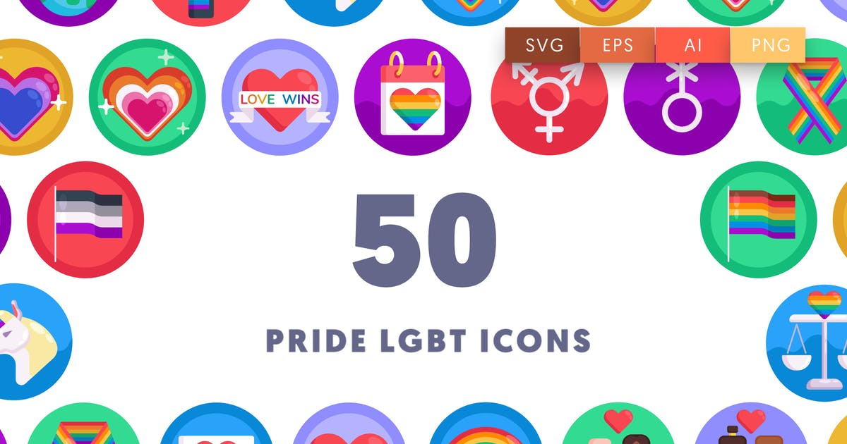 Download Pride LGBT Icons by thedighital