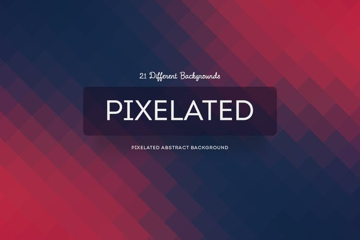 Pixelated Abstract Backgrounds
