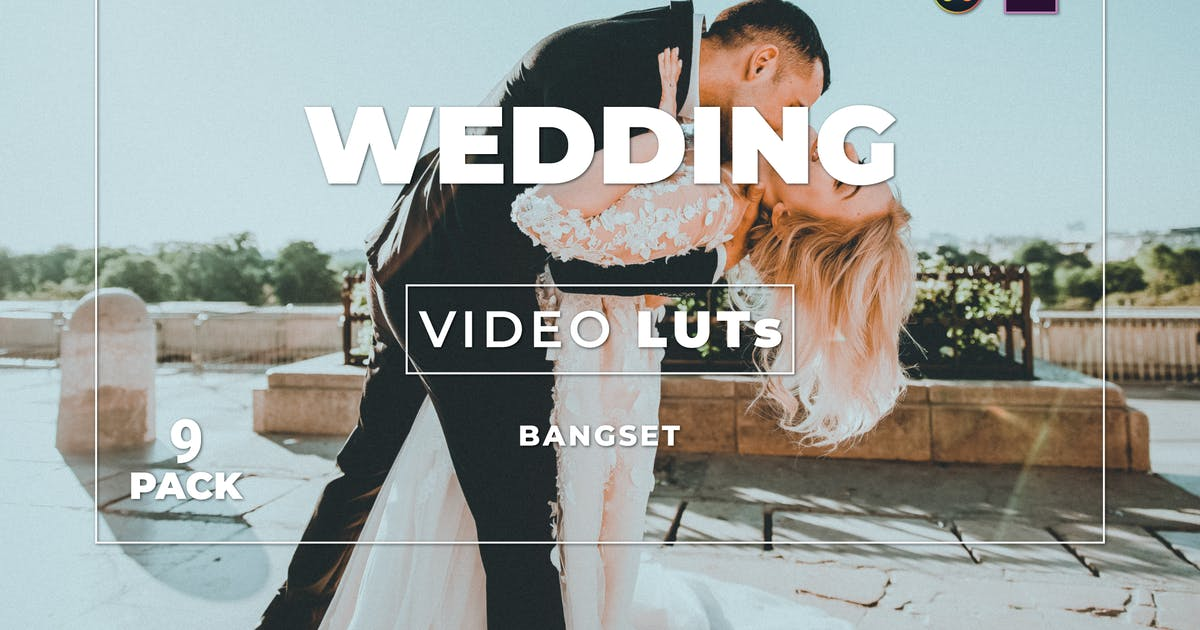 Download Bangset Wedding Pack 9 Video LUTs by Bangset