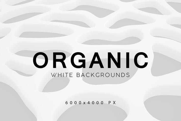 Thumbnail for White Organic Backgrounds 2