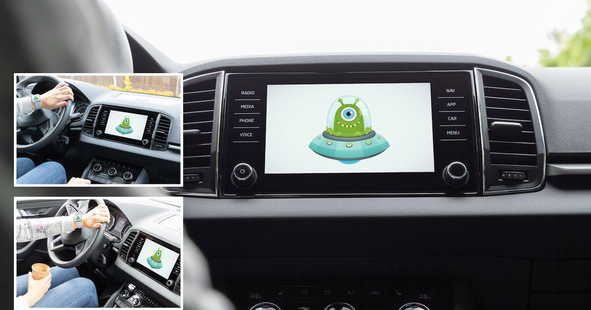 Download Car Display Vol. 2 - 3 PSD Mockups by maroskadlec