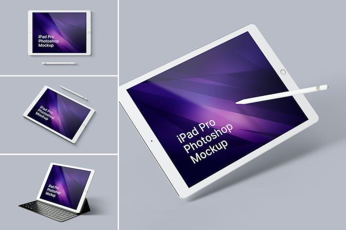 Thumbnail for iPad Pro Photoshop Mockups
