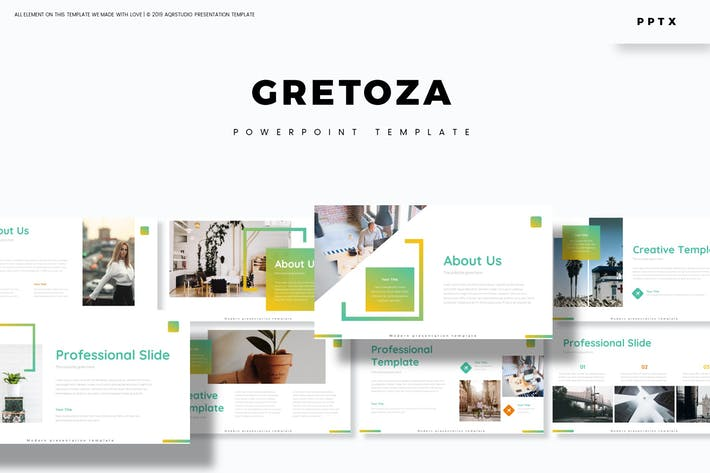 Thumbnail for Gretoza - Powerpoint Template