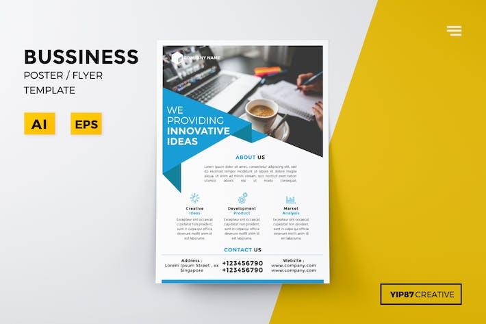Thumbnail for dépliant d'affaires