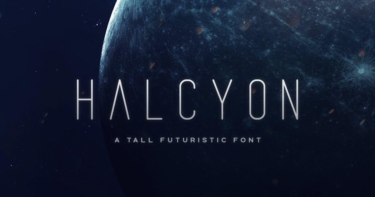 Download Halcyon Typeface by MehmetRehaTugcu