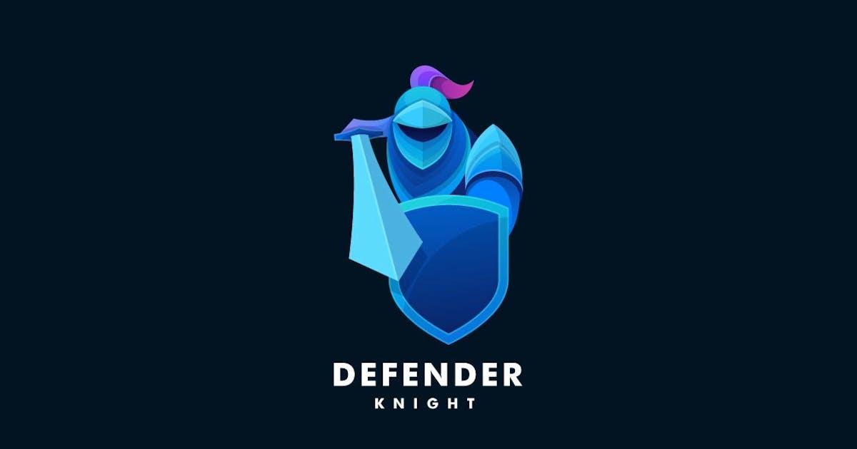 Download Knight Gradient Colorful Logo by ivan_artnivora
