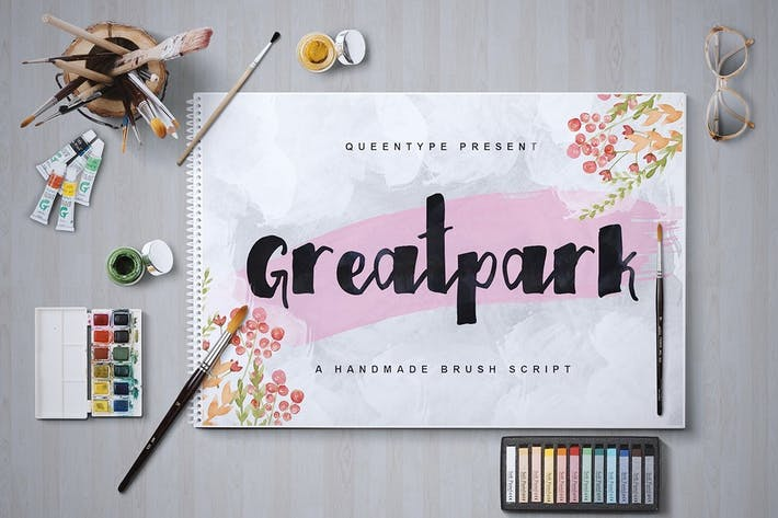 Thumbnail for Greatpark Typeface