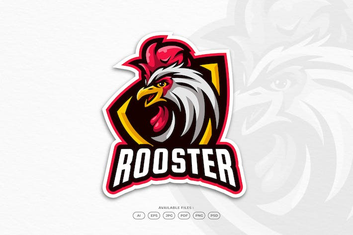 Farm Rooster Chicken Mascot