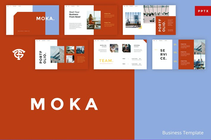Thumbnail for Moka Business -  Powerpoint