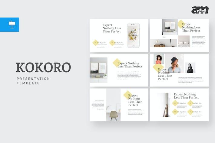 Thumbnail for Kokoro - Keynote Template