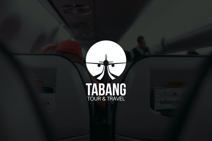 Thumbnail for Tabang : Negative Space Plane Logo