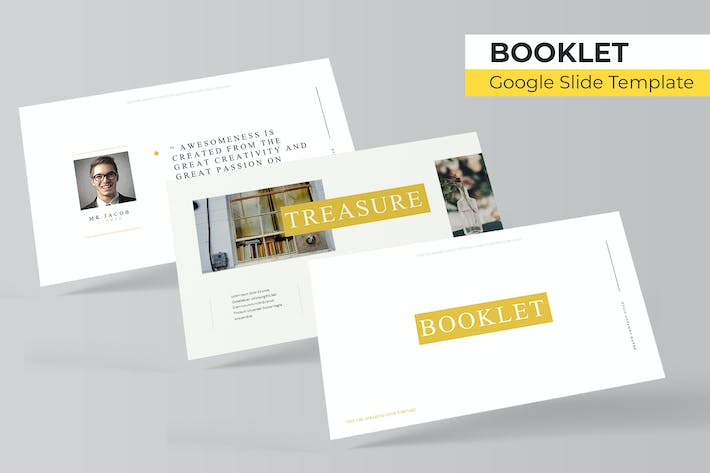 Thumbnail for Booklet - Google Slide Template