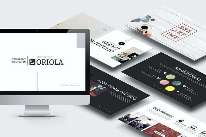 Thumbnail for Oriola : Business Keynote Template