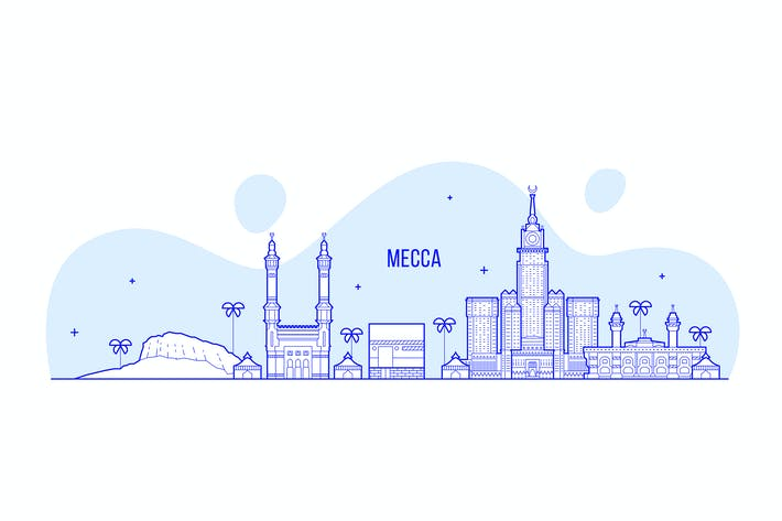 Thumbnail for Mecca skyline, Saudi Arabia