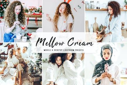 Mellow Cream Mobile & Desktop Lightroom Presets