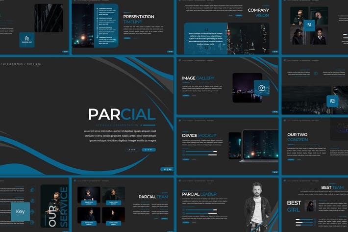 Thumbnail for Parcial - Keynote Template