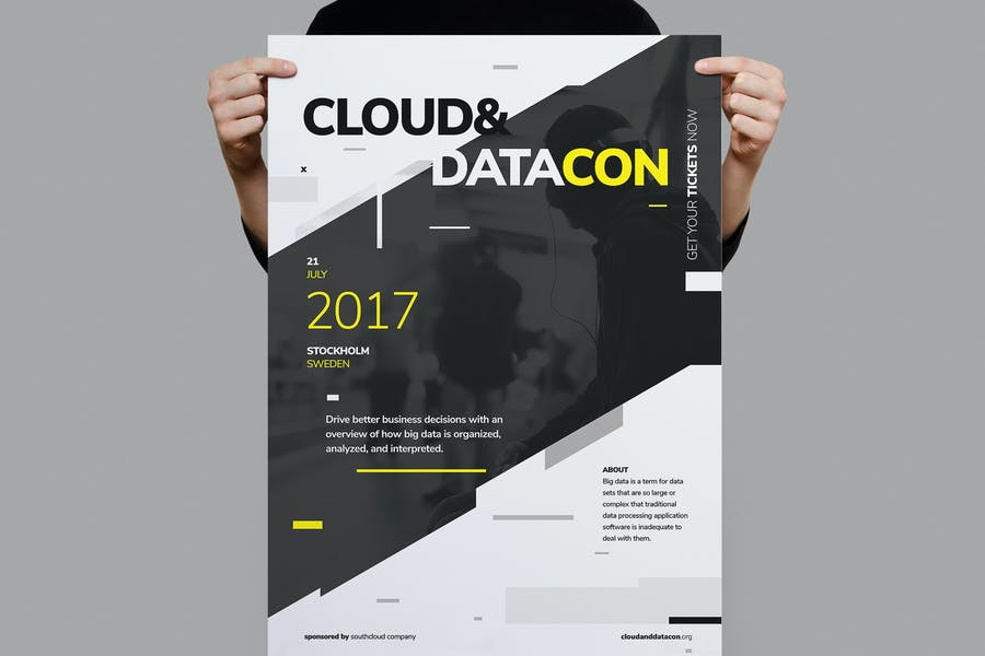Datacon Conference Poster / Flyer