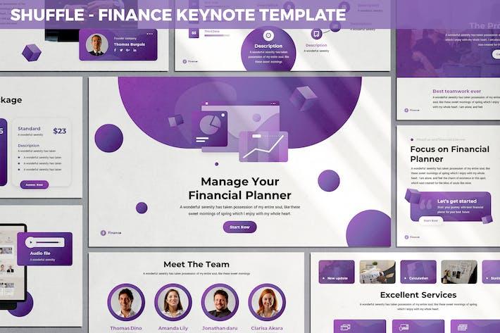 Shuffle - Finance Keynote Template